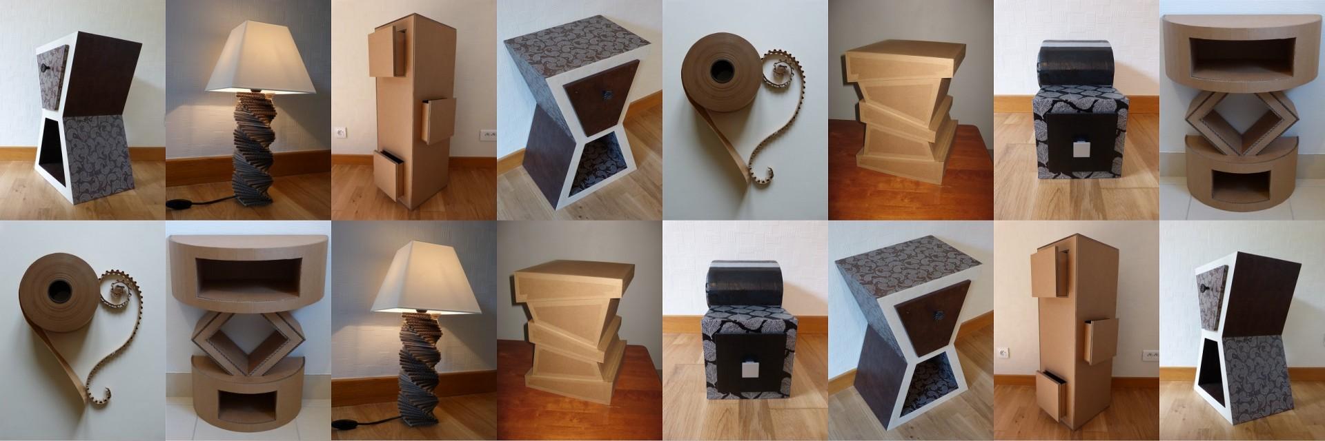 Souvent Ame de carton - Création / réalisation de meubles et objets de  PZ06